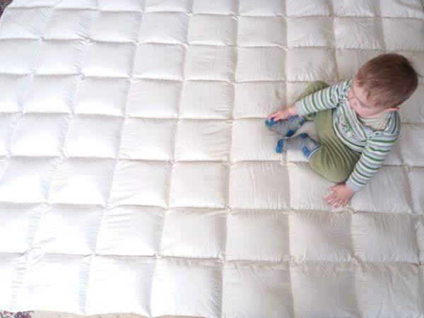 Matratzenauflage 160 x 200 x 4 cm