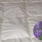 Matratzenauflage 80 x 200 cm mit Lavendel