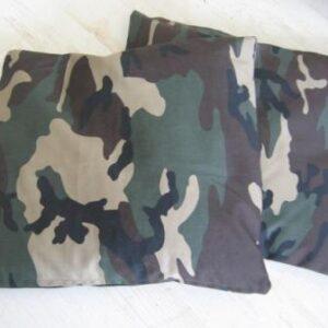 Camouflage Kissen