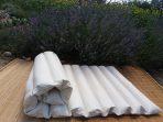 Dinkelunterbett 100 x 200 x 4 cm – nachfüllbar