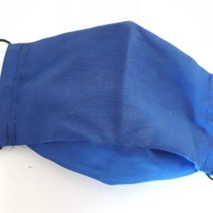 Blaue Mundmaske